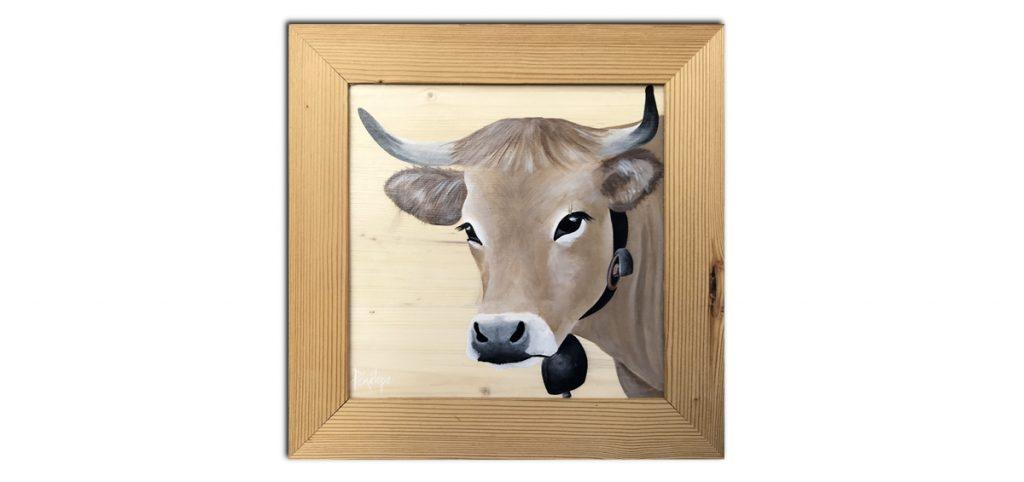 vache portrait