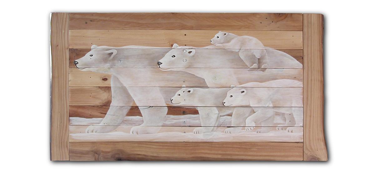 ours polaires la famille