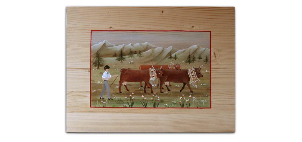 peinture sur bois, initiation stage poya