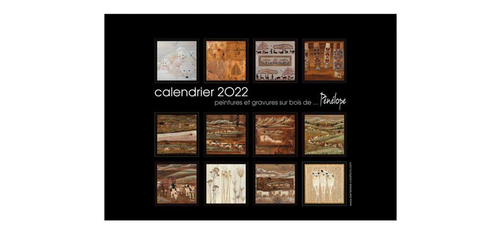 calendrier2022 12 mois