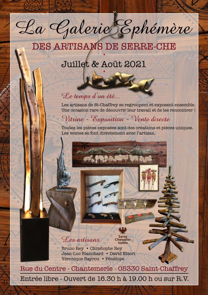 affiche expo artisans de serre che